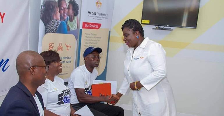 Celebrating Emergency Week: Ghana Post Engages Accra Regional Hospital Staff