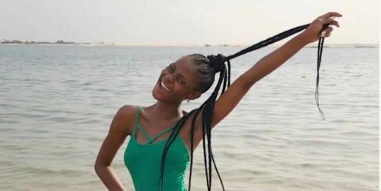 Bbnaija's Khloe Flaunts Tattooed Bikini Body