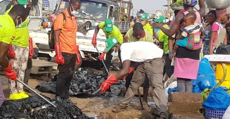 Church Of Pemtecost Cleans Kaneshie, Agbogbloshie Others