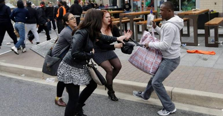 Pickpocketing and bag snatching are very common on African streets