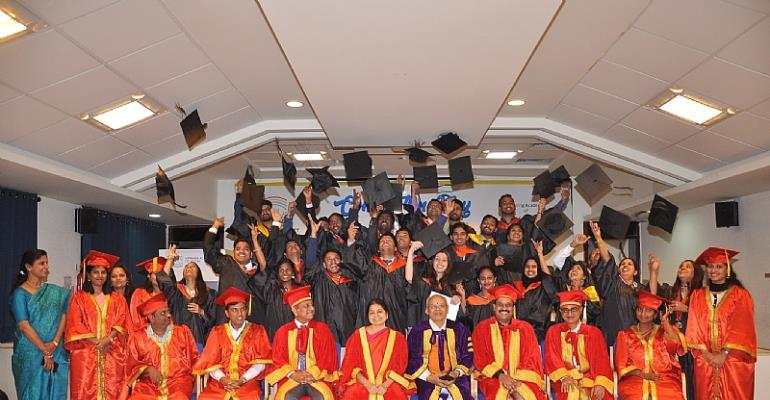 India: Optometrists From Across The World Graduate At Sankara College Of Optometry