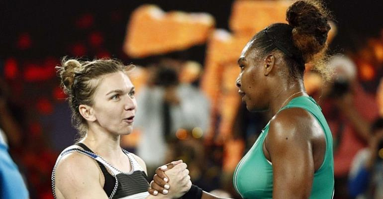 Serena Williams Knocks Out Simona Halep In Epic Australian Open Clash