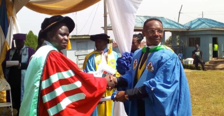 Ghana Baptist University College Holds 10th Congregation