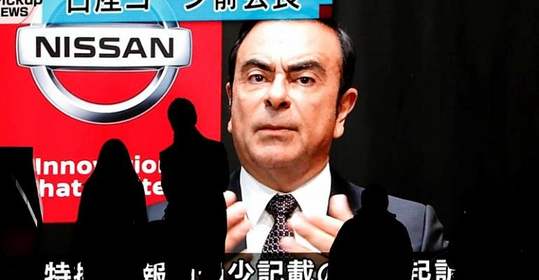 Renault board says Ghosn Renault pay 'in compliance'