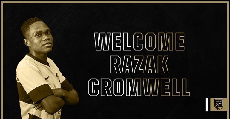Dreams FC's Razak Cromwell Joins Birmingham Legion FC