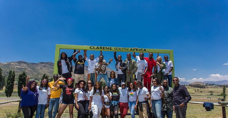 Adekunle Gold, Jackie Appiah, Mawuli Gavor, Stephanie Coker, Joselyn Dumas, Kemi Adetiba and more Experienced Gauteng, KZN and the Free State in Style With Great Wave of Excitement For the Global Citizens Concert
