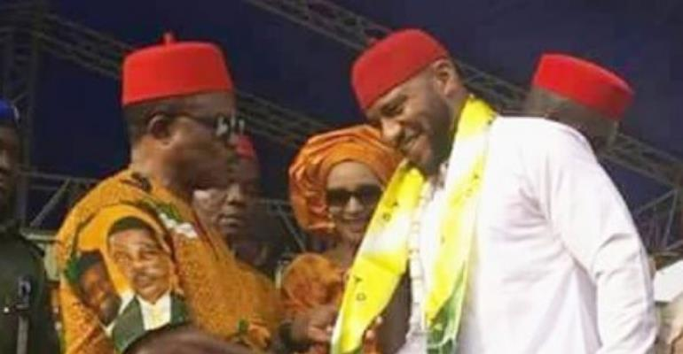Actor, Yul Edochie Officially Welcomed into Winning Party APGA