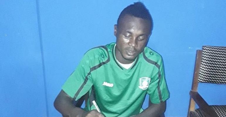 Aduana Stars Sign Congolese Striker Uba Ikama