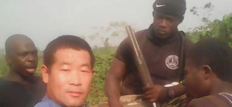Illegal Miners, Including Other Chinese Nationals Arrested