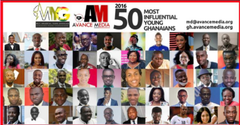 Finalists For 2016 50 Most Influential Young Ghanaians Announced