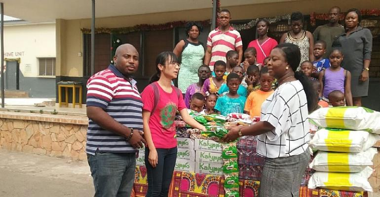 GuangXi Chamber of Commerce Supports Kumasi Children's Home
