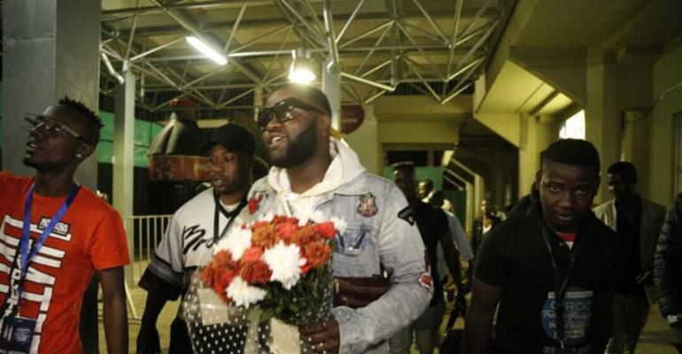 Skales Assures Fans Of Amazing Experience At The Ciroc Pool Party In Uganda