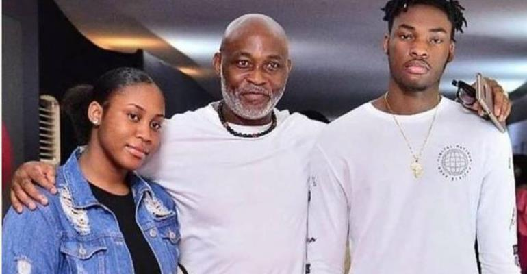 Actor, RMD Steps out with Cute Son, Sends Ladies Drooling