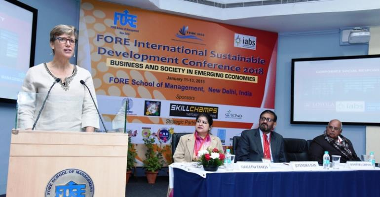 FORE International Conference- Making Sustainability part of Business & Society