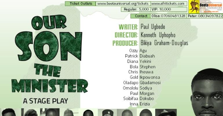 "Beeta Universal Arts Foundation presents ""Our Son the Minister"""