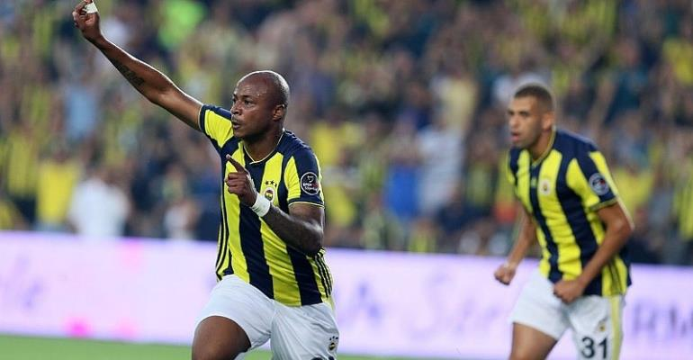 Fenerbahce Charged Not To Make Andre Ayew Deal Permanent