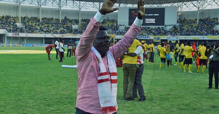 Kotoko Executive Chairman Content With CAF CC Group Stage Draw