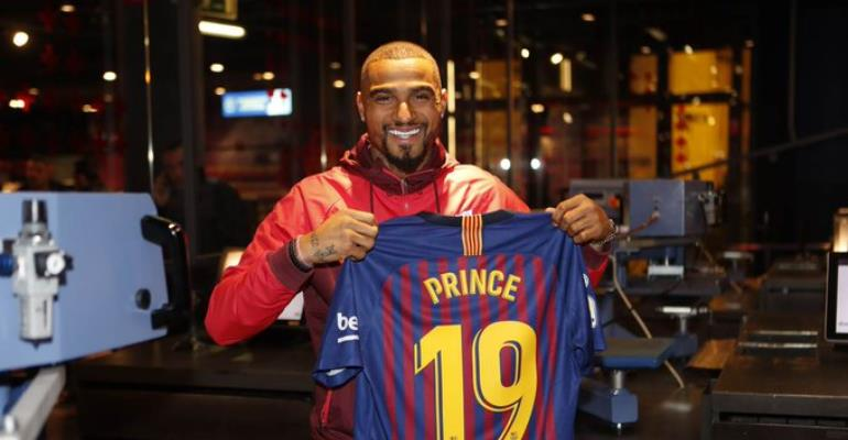 LIVE STREAMING: Barcelona Unveils New Signing Kevin Prince Boateng