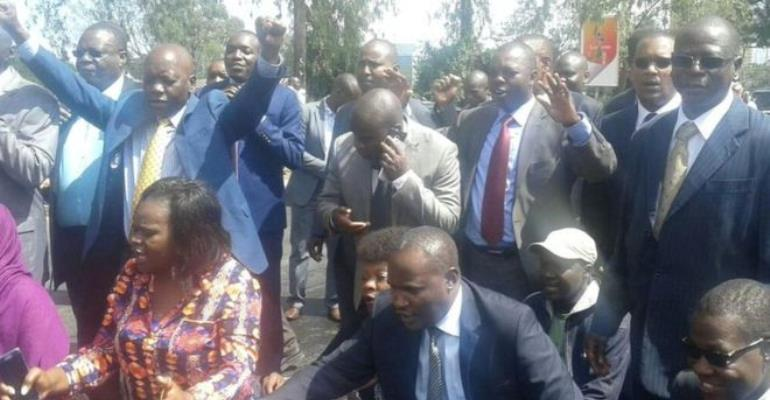 Cord MPs went straight to court after leaving parliament