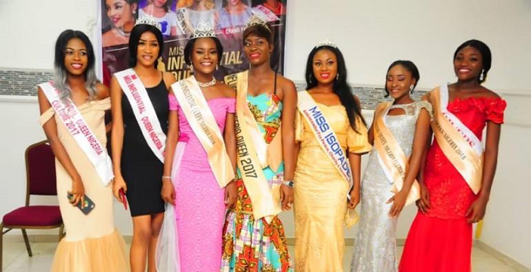 19 year old Doubra igunis crowned miss influential queen Nigeria 2018