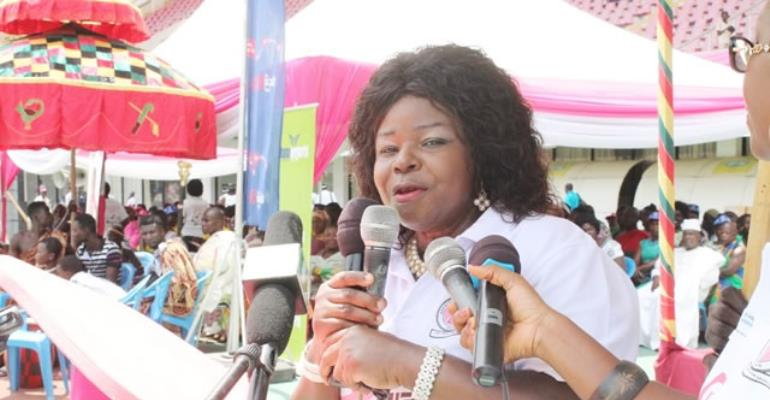 President of BCI, Dr. Mrs. Beatrice Wiafe Addai