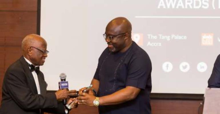 IMANI Honours Communications Ministry