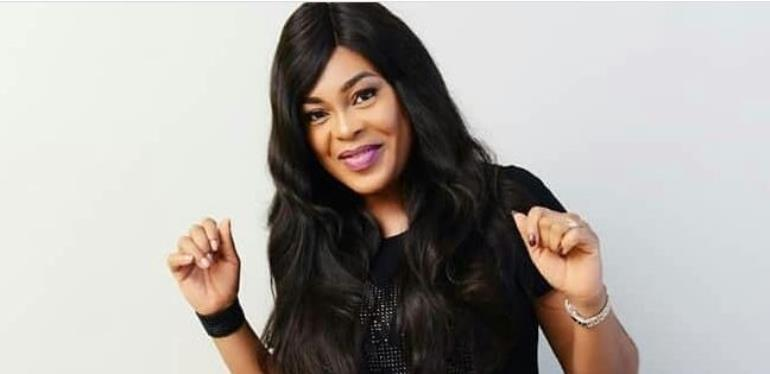 Nollywood Actress, Sola Kosoko Pretty in African kembe Trouser