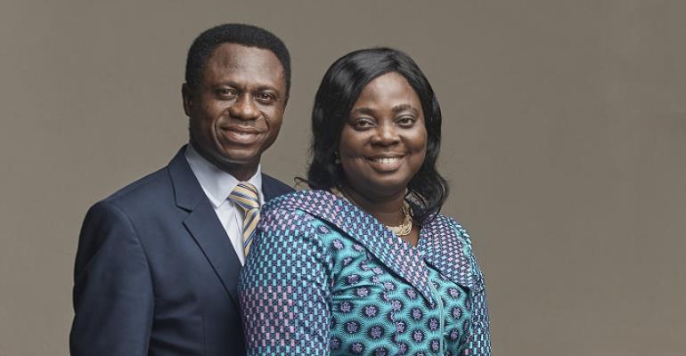 Apostle Eric Nyamekye and wife Mary