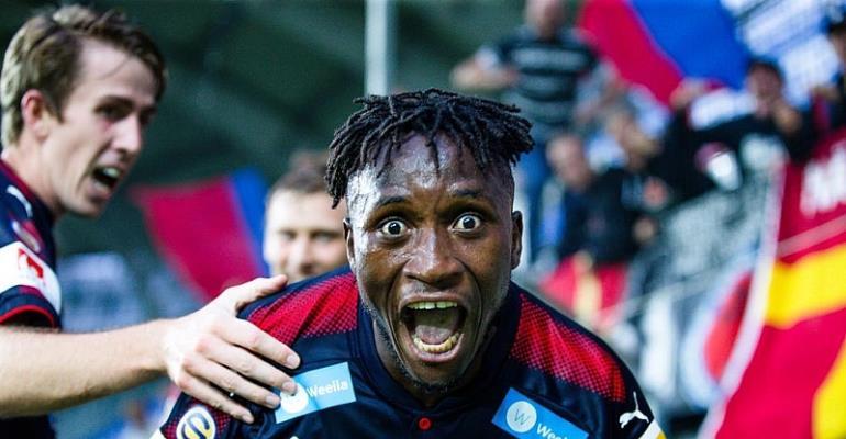Meet The Ghanaian Footballer, Mamudu Moro, Making Waves In Swedish Premier League