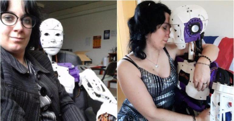 Woman falls in love with 3D-Printed Robot, wants to marry It