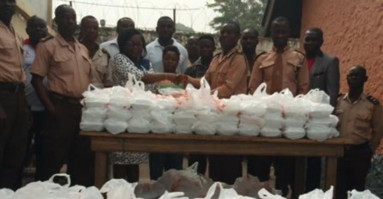 Ho Prisons Receive Support