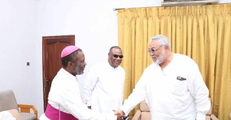 I Will Defer My Position On National Cathedral To My  Church - Rawlings