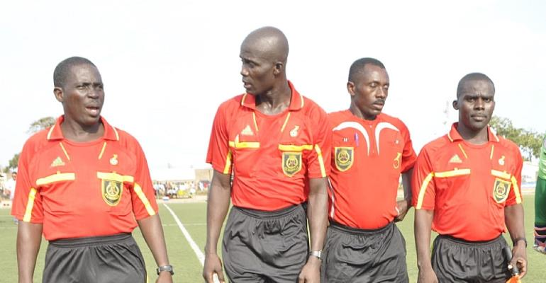 Forty referees and 40 assistants selected Ghana Premier League