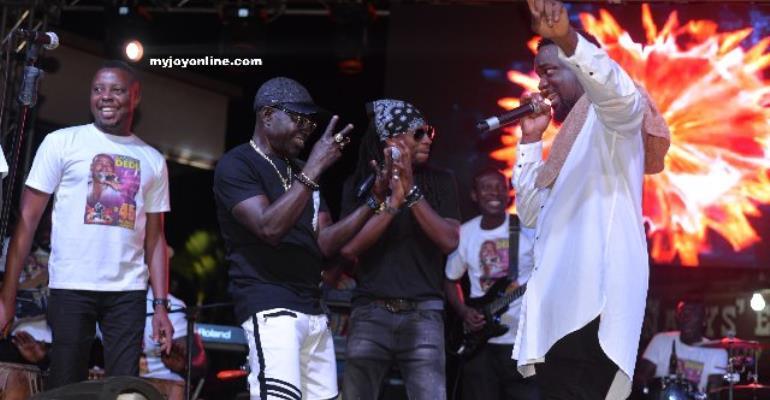 Amake Dede @ 45 Music Concert