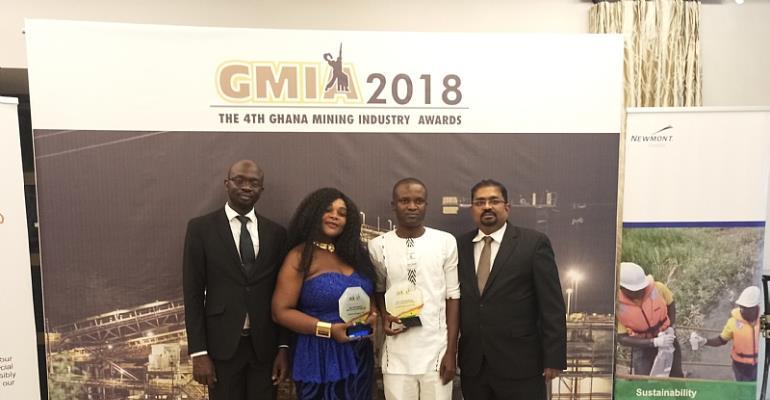 Interplast Wins Two Prestigious Mining Award at GMIA 2018