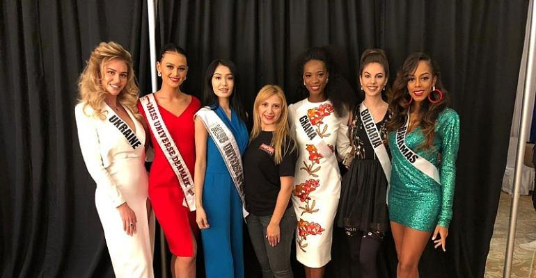 Miss Universe 2018 in Thailand – Thais give Miss Universe-Ghana warm welcome in Bangkok