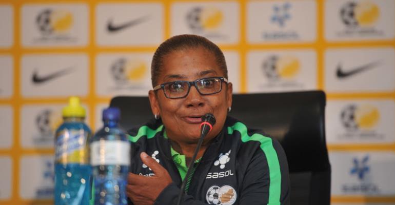 South Africa head coach Desiree Ellis