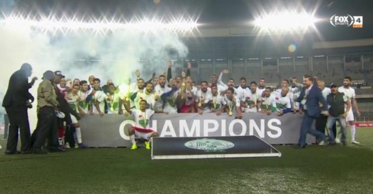 CAF Confederations Cup: Raja Casablanca Beat AS Vita Club To Win Trophy