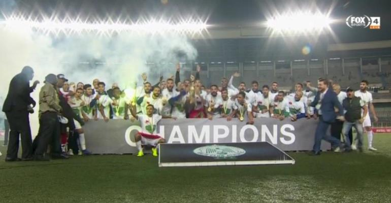 CAF Confederations Cup: Raja Casablanca Beat AS Vita Club To Win Trophy
