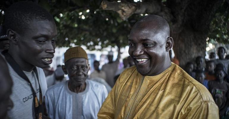 Mahama, Nana Addo congratulate new Gambian president