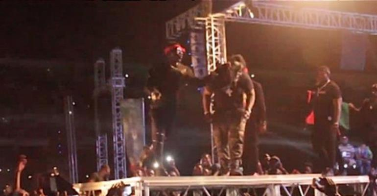 Slapping My Bodyguard Was Part Of A Stunt – Shatta Wale