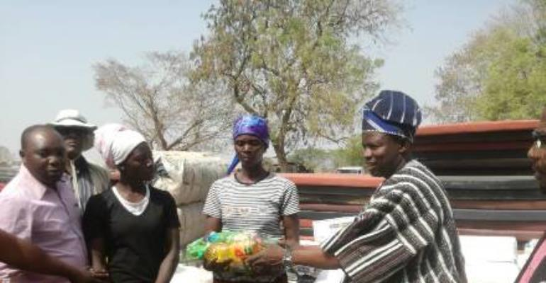 Victims Of North Gonja Chieftaincy Clashes Get Support