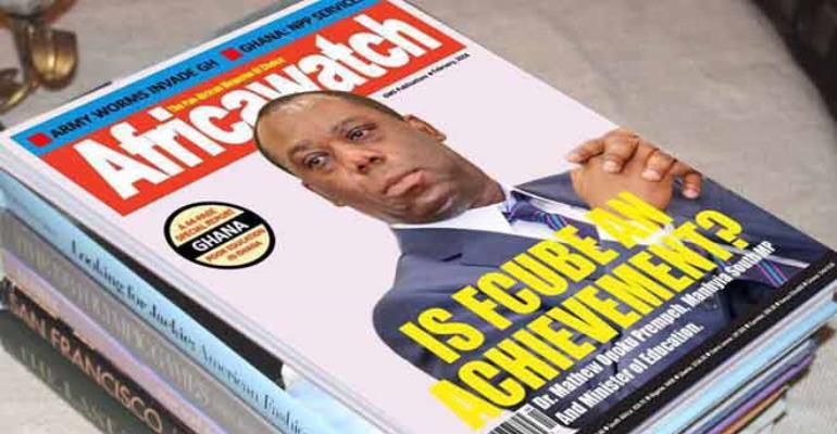 Statement By Executive Editor Steve Mallory Regarding False News Aimed At Defaming Africawatch Magazine