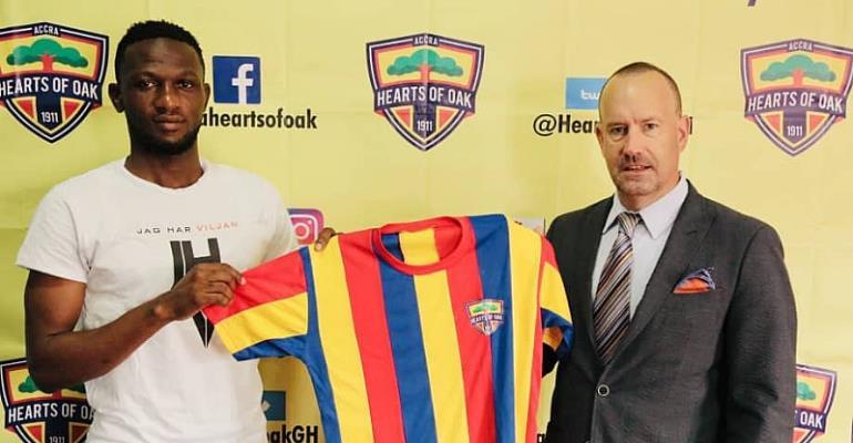 Hearts Sign WAFA Captain Mohammed Alhassan
