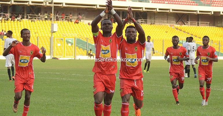 Asante Kotoko Engage Black Meteors In A Friendly On Sunday