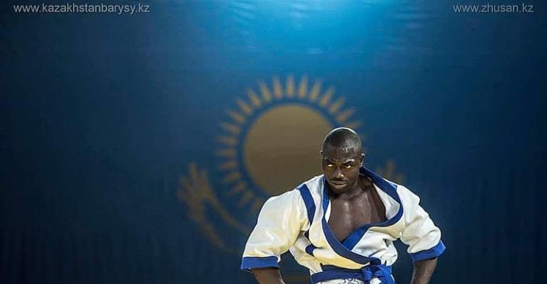 Oliveirra Aryeh Represents Ghana At Kures Wrestling World Championship In Kazakhstan
