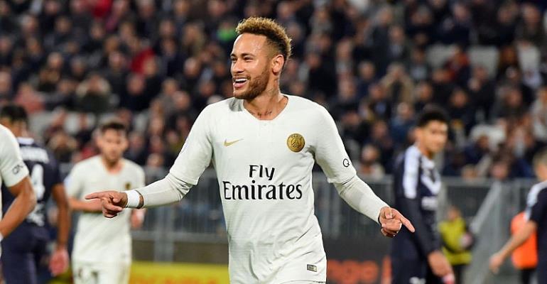 Neymar Hints Of Premiership Move