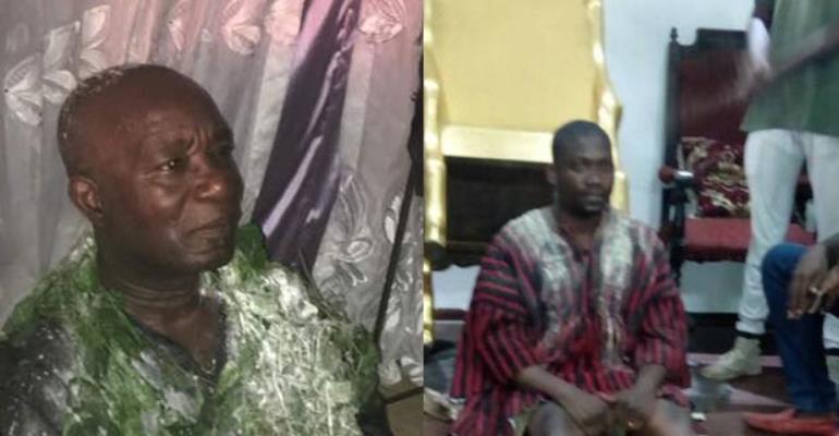 Odehye Kwasi Akuffo and Kwadwo Kesse