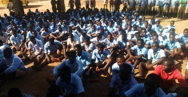 Upper East Region: Chaos Hit Fumbisi SHS In Builsa