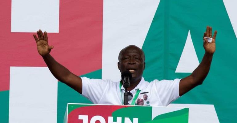One-Year On After 2016 Elections: Nii Lante And His Famous 'Kakai' Election Dance